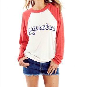 WILDFOX AMERICA Vintage Kim Sweatshirt